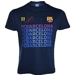 Fc Barcelone T-Shirt Barça - Neymar Jr - Collection Officielle Taille Enfant garçon