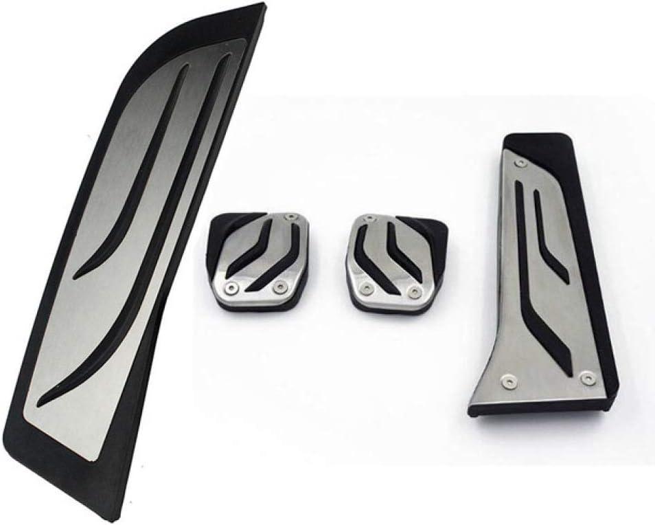 ZAYYL Car Accelerator Brake Pedal Covers Trim,For BMW 1 3 Series F20 F21 F30 F31 F34 GT 318 320i 335