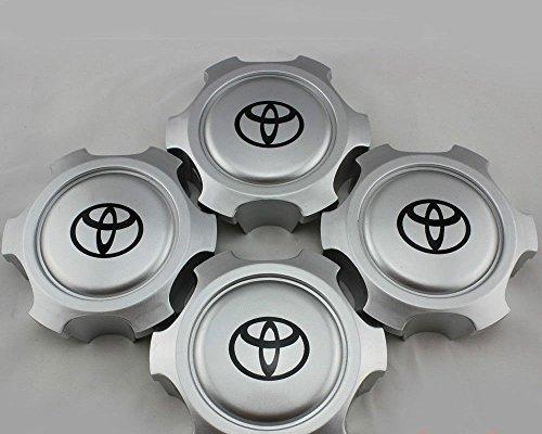Toyota 4runner Center Caps - Gosweet NEW Set of 4 For Toyota Tacoma Tundra 4Runner T100 Wheel Hub center Caps 6 lugs 15