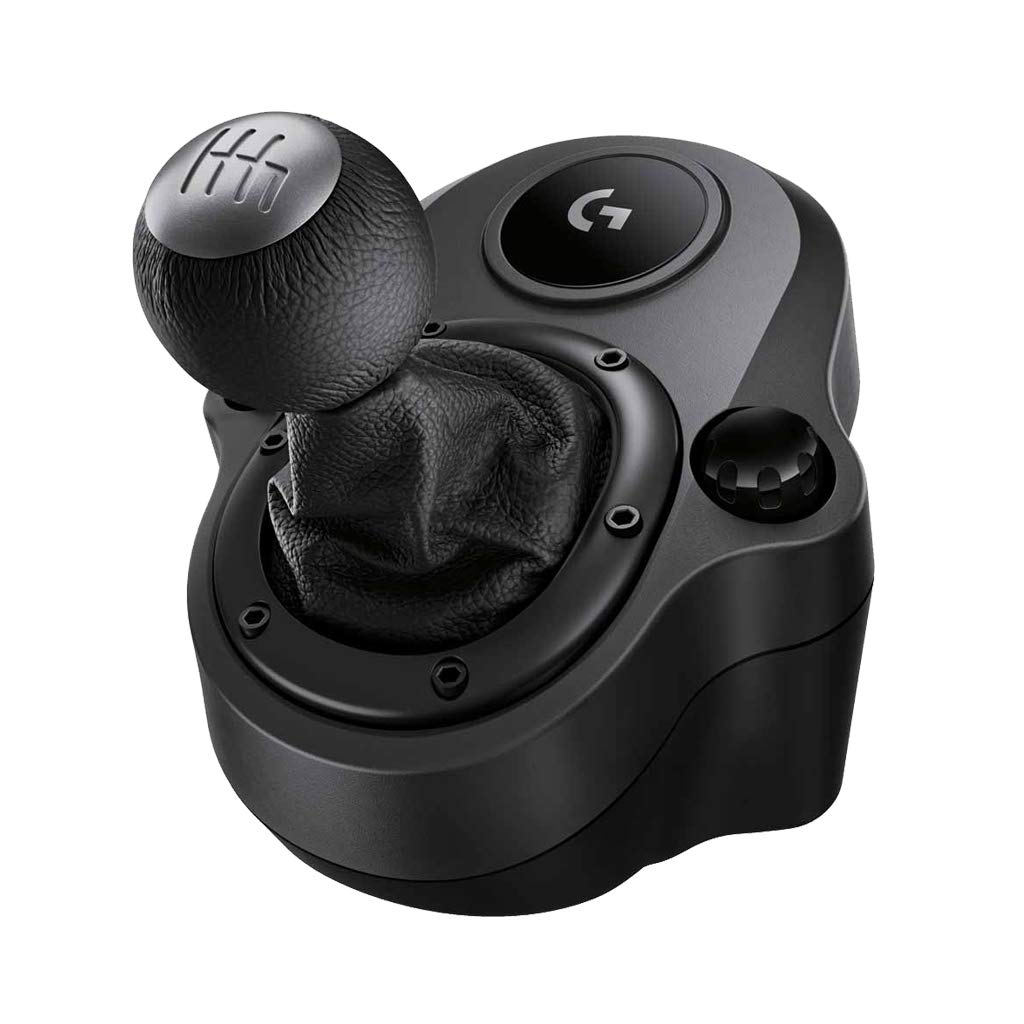 Logitech G Driving Force Shifter – Compatible with G29 and G920 Driving Force Racing Wheels for PlayStation 5, Playstation 4, Xbox Series X|S, Xbox One, and PC