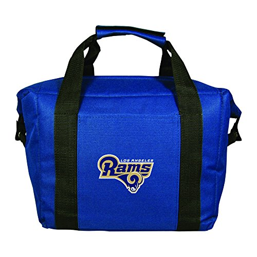 NFL Los Angeles Rams Soft-Sided Cooler, Blue