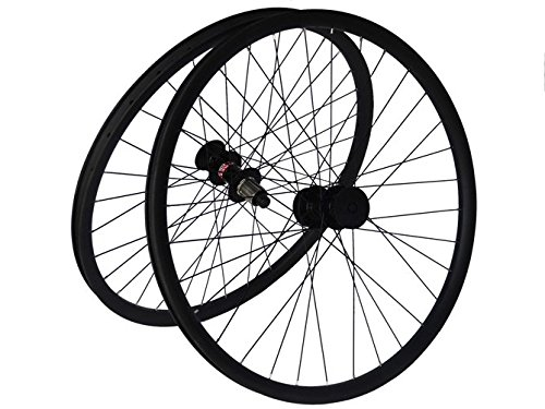 Flyxii Full Carbon Matt 650B MTB Mountain Bike Bicycle Clincher Wheelset 27.5