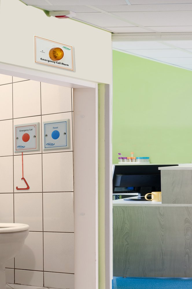 Emergency Call Button for Seniors Fall Prevention - Wall Mount System