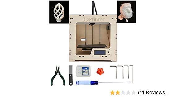 MBOT DIY Plywood 3D Printer Assembly Kit with Single Head Extruder