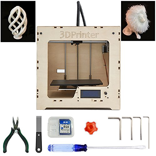 Plywood Kit (MBOT DIY Plywood 3D Printer Assembly Kit with Single Head Extruder and 240 x 220 x 200 Build Volume)