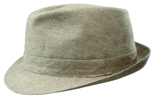 Stetson Men's Palmdale Stingy Brim Linen Hat, Natural, Large