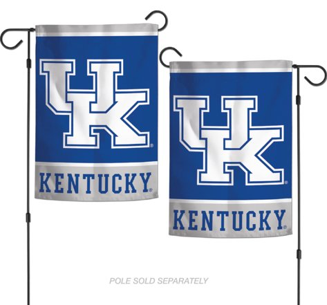 "NCAA University of Kentucky Wildcats 12.5"" x 18"" Inch 2-Side"