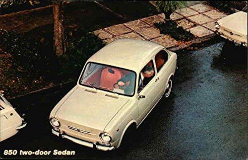 Fiat 850 Two-Door Sedan Cars Original Vintage -