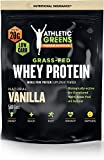 Athletic Greens Grass-Fed Whey Protein, Natural Vanilla – Deliciously Smooth Protein Shake, 100% Grass-Fed (No Hormones, Certified No GMOs), 20g of Protein Per Serving, 583 grams Review