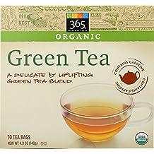 365 Everyday Value Organic Green Tea, 70 ct