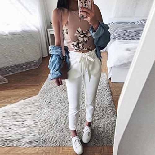 Pantalón UFACE para Mujer Weiß Casual 1XPPcWyT