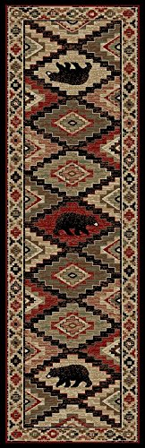 (Mayberry Rugs AD7793 Boone Multi Runner Area Rug, 2'3