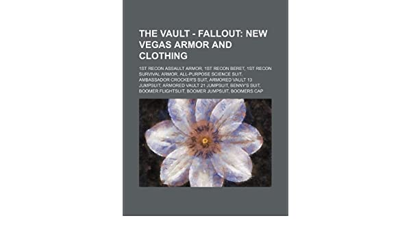 The Vault Fallout New Vegas Armor And Clothing 1st Recon Assault
