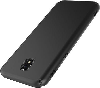 AICEK Funda Samsung Galaxy J5 2017, Negro Dura Ultra Slim ...