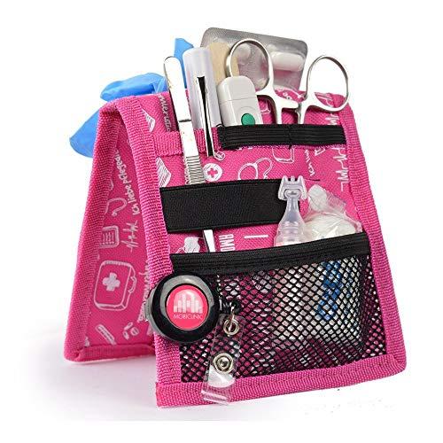 Salvabolsillos, Keens, Mobiclinic, Para bata o pijama, Diseno exclusivo con estampados en color rosa, Amo la enfermeria