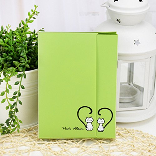 Green Photo Album Diy Kits Baby Creative Family Newborn Gifts Lovers Memory Picture Albums 40 Photos - Photo Album 4x6 40 Photos