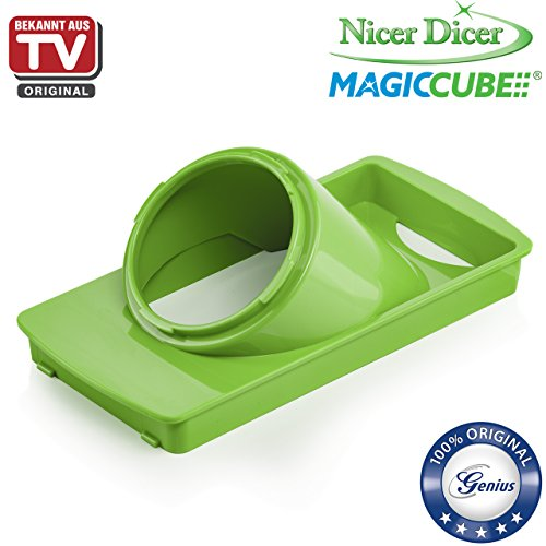nicer dicer magic cube by genius 13 pieces fruit and vegetable slicer as seen on tv. Black Bedroom Furniture Sets. Home Design Ideas