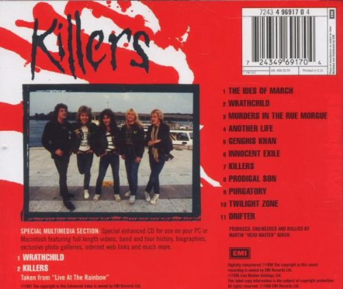 Killers (enhanced) (eng) by Emi Europe Generic
