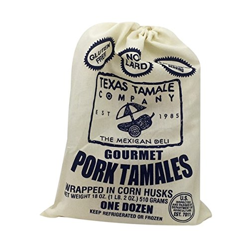 (Texas Tamale Company Gourmet Pork Tamales, 18 Ounce (Pack of 8))