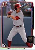 2015 Bowman Draft Picks #138 Scott Kingery Baseball Card in Protective Screwdown Display Case