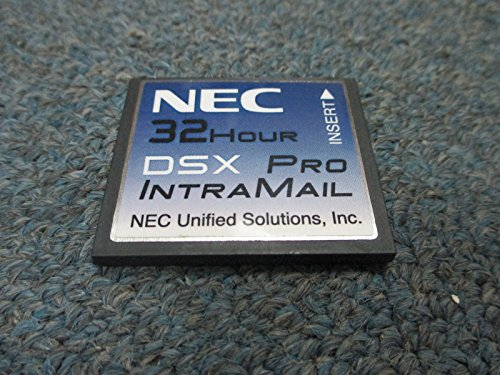NEC DSX 40 80 160 1091053 V2.2.1T G Intramail 8 Port 32 Hour PRO Voice Mail Card (Intramail 8 Port)