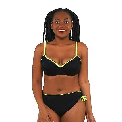 3d84b6bc5 Mujeres trajes de baño SFHK Split Tipo Bikini Espalda Trasera cinturón de  Acero Apretado Suave y
