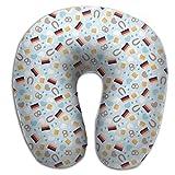 Scorpio Pretzel Food Adult Size Travel Pillow Spa U SHAPE For Driving Adult