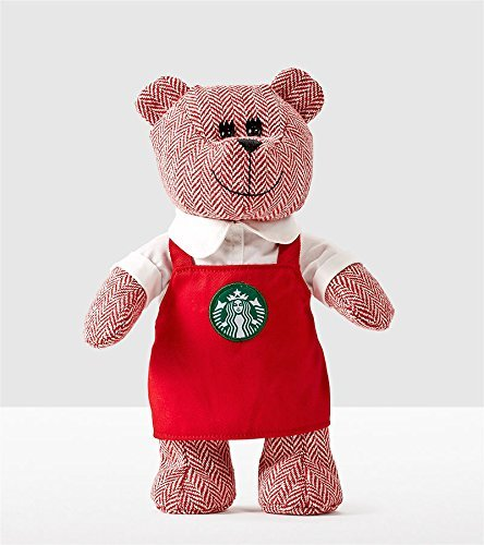 Starbucks Bear - Starbucks Bearista Bear with Red Apron