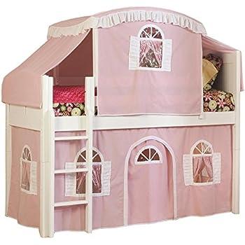 Amazon Com Bolton Furniture 9811500lt3pw Cottage Low Loft