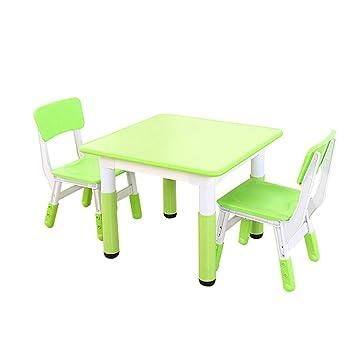 Zh Et En Table ChaisesBureau D'activités Enfants Plastique 2 Pour H9YEIW2D