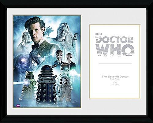GB eye 16 x 12-inch Doctor Who 11th Doctor Framed Photograph, Assorted GB eye Ltd PFC565