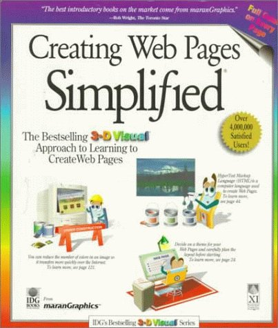 Creating Web Pages Simplified (3-D Visual Series)