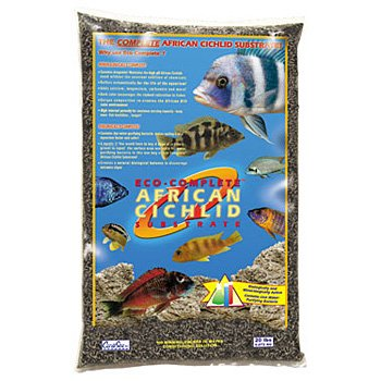 Eco-Complete Cichlids Sand (20 lbs) [Set of 2] by Carib Sea