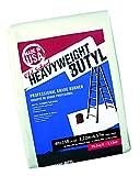 Old School Heavy Weight Butyl Drop Cloth, 4' x 15'