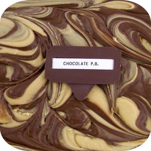 Made With Splenda - Creamy Chocolate/Peanut Butter Fudge - 1 Lb Box by Amish Buggy