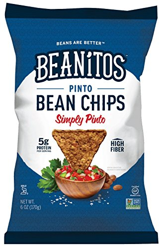 Beanitos Pinto Bean Chips, Sea Salt, 6 oz