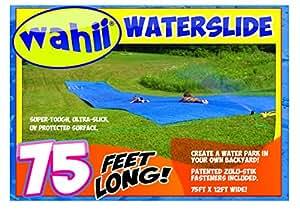 Wahii WaterSlide 75 - World's Biggest Backyard Lawn Water Slide!