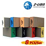 More buying choices for Z-Lion Diamond Hand Polishing Pads Arc Shape Back for Glass Stone - Pack of 8 Pcs