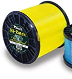 Momoi Hi-Catch - 1 lb. Spool - 30 lb. - 2020 yd. - Hi-Vis Yellow