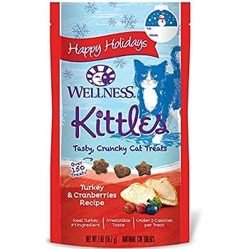 Wellness Natural Pet Food Seasonal Cat Treats, 1 Count, 2 Oz
