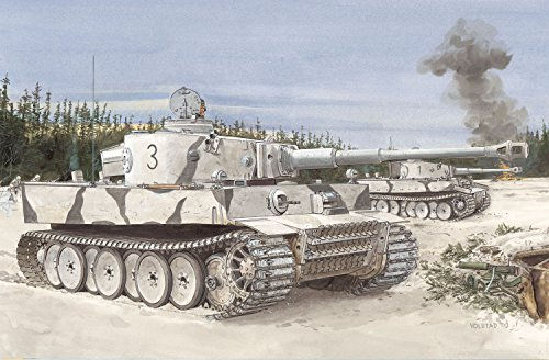 Dragon Models 1/35 Tiger I, Initial Production s.Pz.Abt.502 for sale  Delivered anywhere in USA