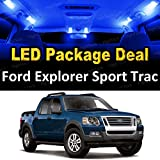 LED Interior Package Deal for 2007 Ford Explorer Sport Trac (8 Pieces), BLUE