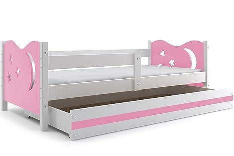 Camerette Per Neonati Rosa : Lettino per bambino nicolò rosa letto con cassettone