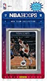 New Orleans Pelicans 2017 2018 Hoops Basketball Brand New Factory Sealed 9 Card Team Set with with Anthony Davis, Buddy Hield, Cheick Diallo Rookie card plus