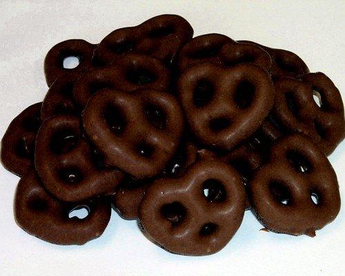 Dark Chocolate Pretzels, 10LBS