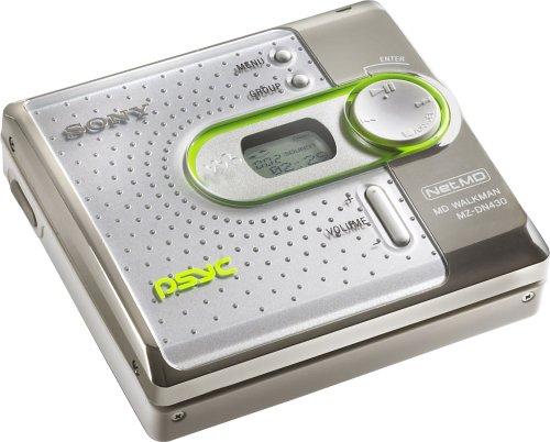 Sony MZ-DN430PSWHI Psyc MiniDisc Network Walkman (White) by Sony