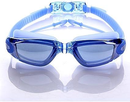 Adults Blue Swim Swimming Goggles