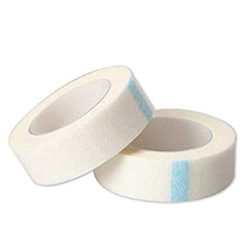 Buy Digital Shoppy 2 Pc Eyelash Extension Lint Breathable Non-woven Cloth  Adhesive Tape Medical Paper Tape For False Lashes Patch Makeup Tools Online  at Low Prices in India - Amazon.in