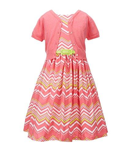Buy belted chevron stripe dress - 4