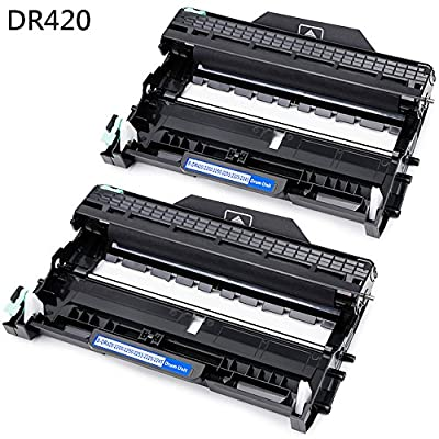 JetSir Compatible Brother DR420 DR 420 Drum units 2-Pack, Use for TN450 Toner for Brother HL-2270DW HL-2280DW HL-2230 HL-2240 HL-2240D MFC-7860DW MFC-7360N DCP-7065DN Intellifax-2840 Printer